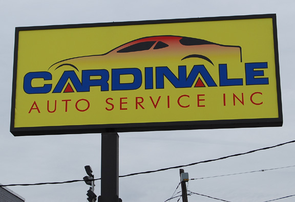 cardinalemon illuminated sign
