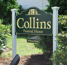 collins post and panel signs