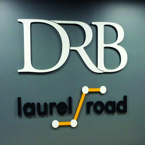 drb laurel road dimensional letters