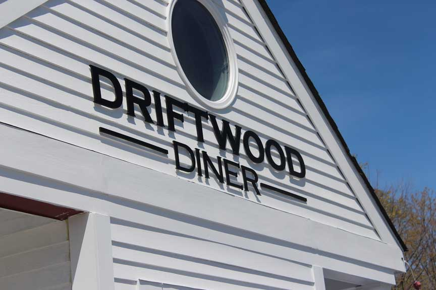 driftwood dimensional letters
