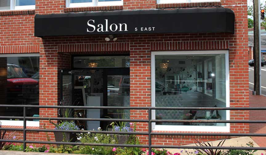 salon5 east awning