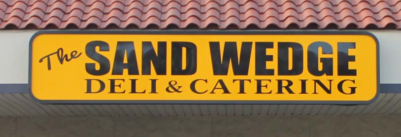 sandwedge illuminated sign