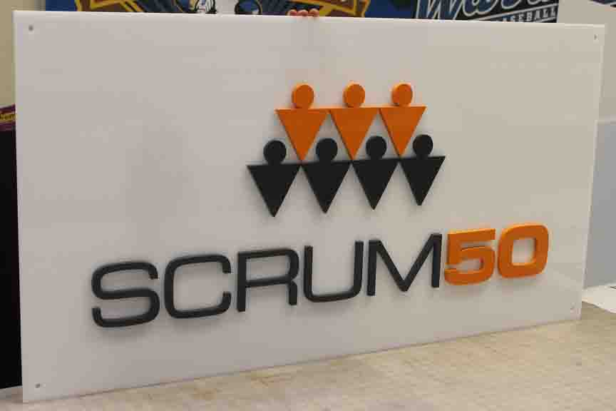 scrum dimensional letters