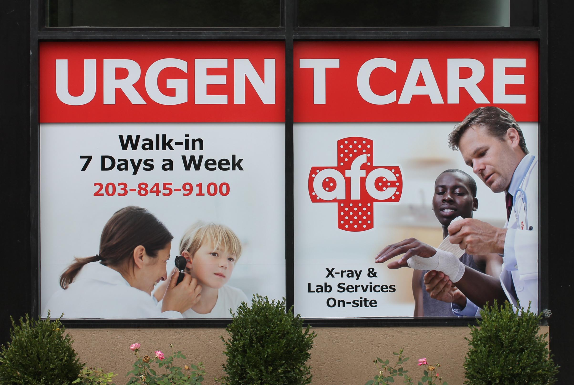 urg care win front digital prints