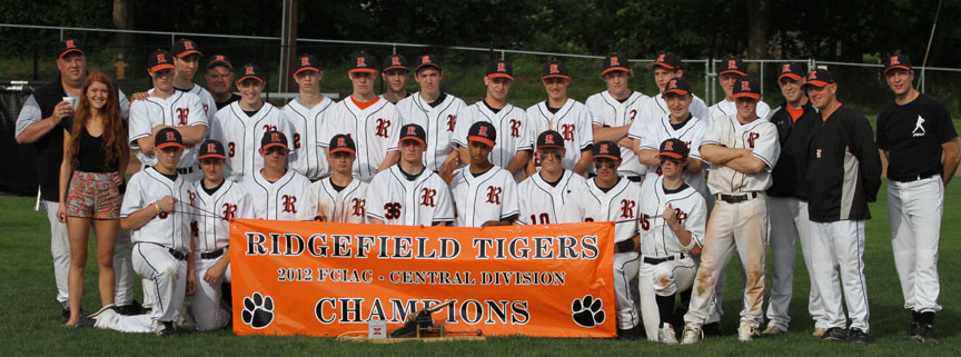 Rigdefield Tigers DIvision Champions banner