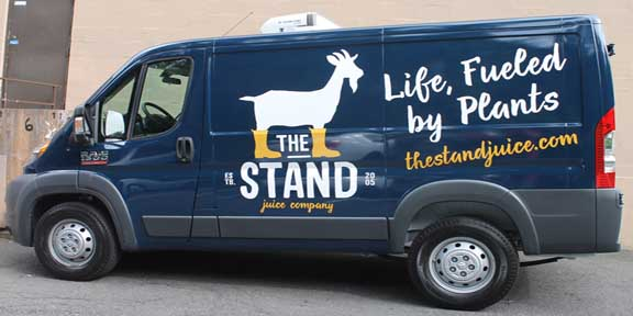 The Stand Vehicle Lettering