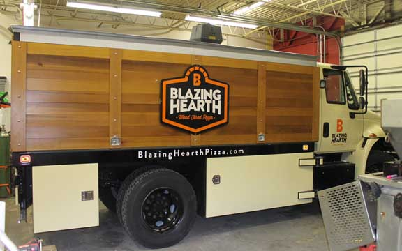 Blazing Hearth truck