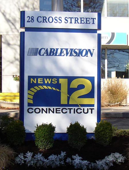 cablevision illuminated sign