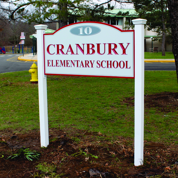 cranberry elementary carved logo