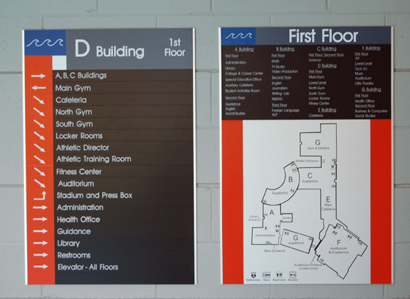 D Building First Floor Direction