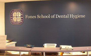 Fones School of Dental Hygiene Wall
