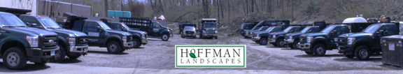 hoffman yard sign and logo
