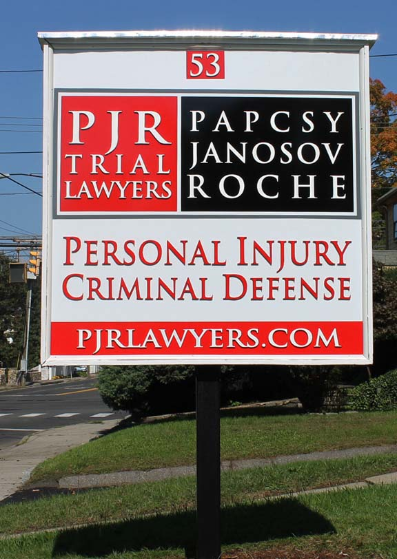 papscyground post and panel Signs