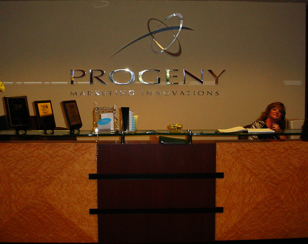 Progeny Custom office sign