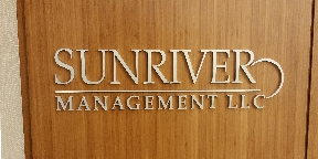 sunriver management office sign