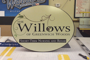 willowsa pan sign